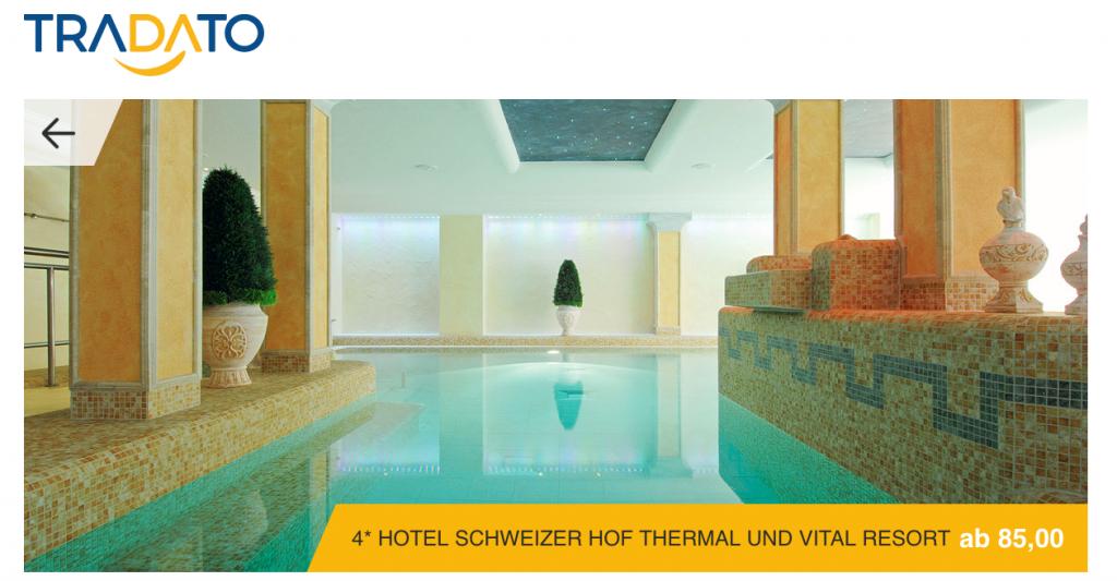 Angebot Screenshot Schweizer Hof