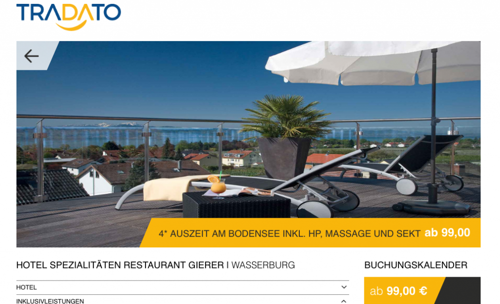 Angebot Screenshot