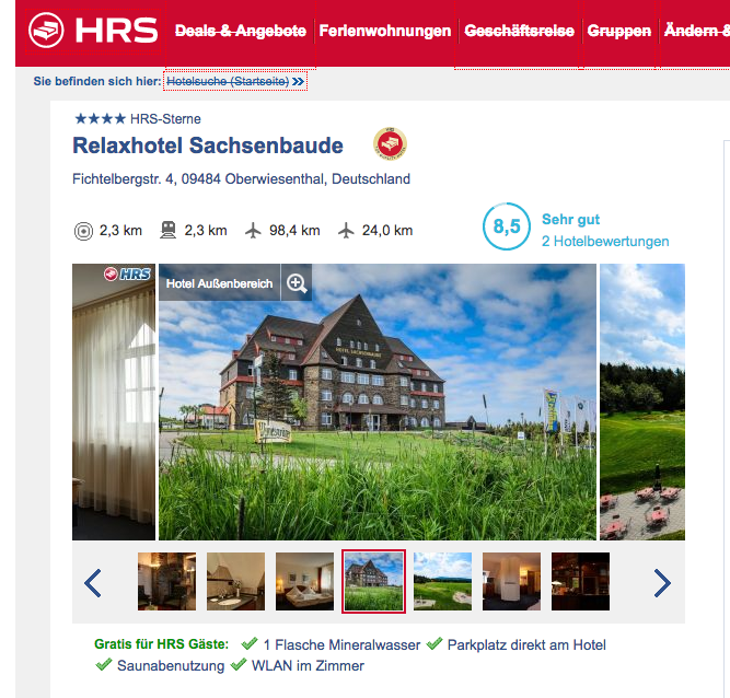 Relaxhotel Sachsenbaude